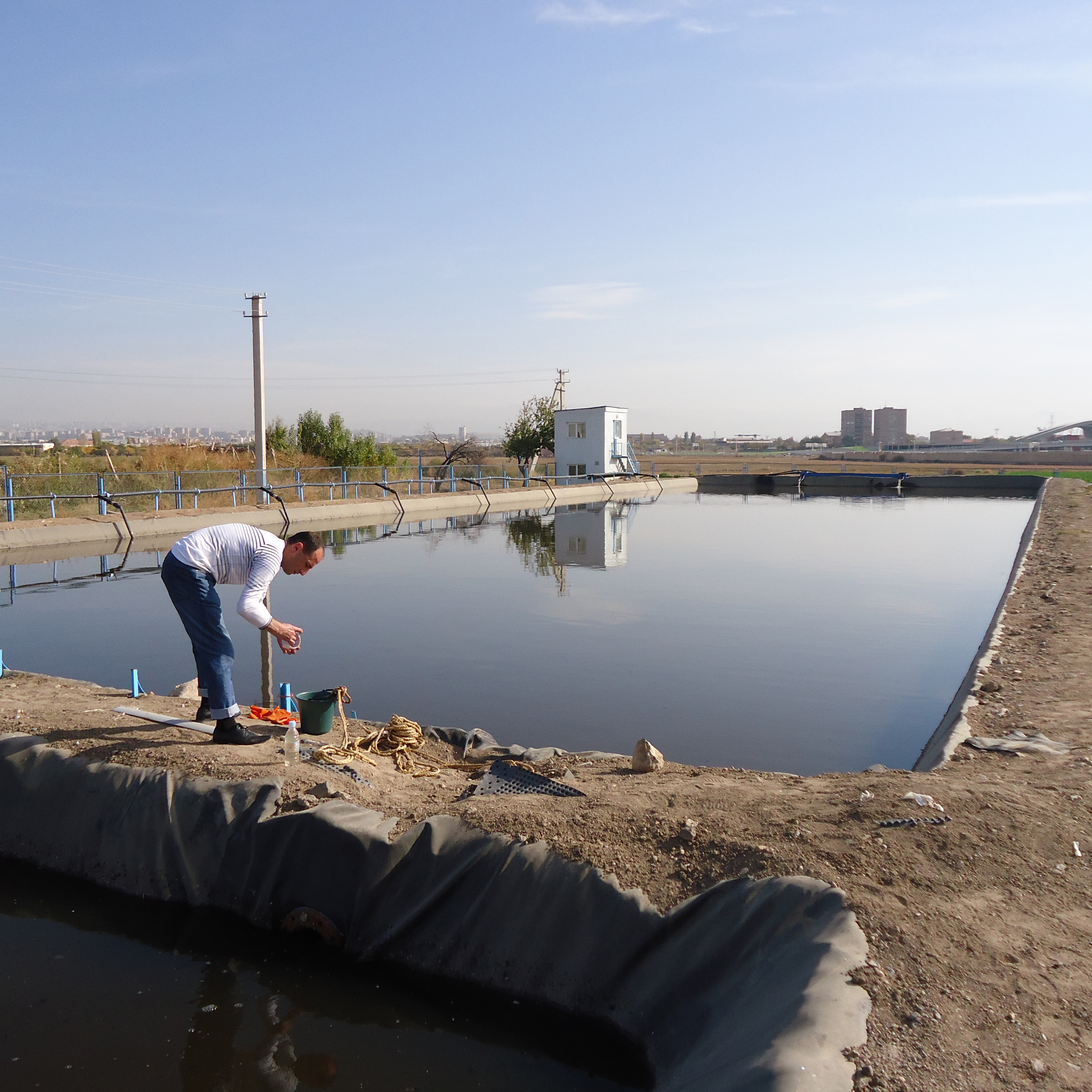 Rehabilitation of agricultural lands though application of biological ponds for domestic wastewater treatment in Parakar community of Armavir region