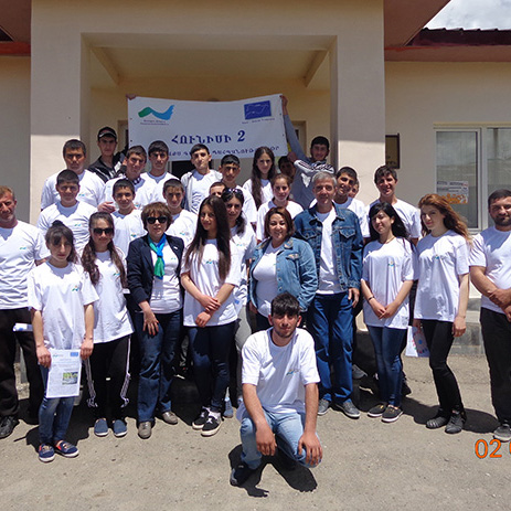 An Event Dedicated to Kura- Araqs Rivers Protection Day Was Held in Ararat Town