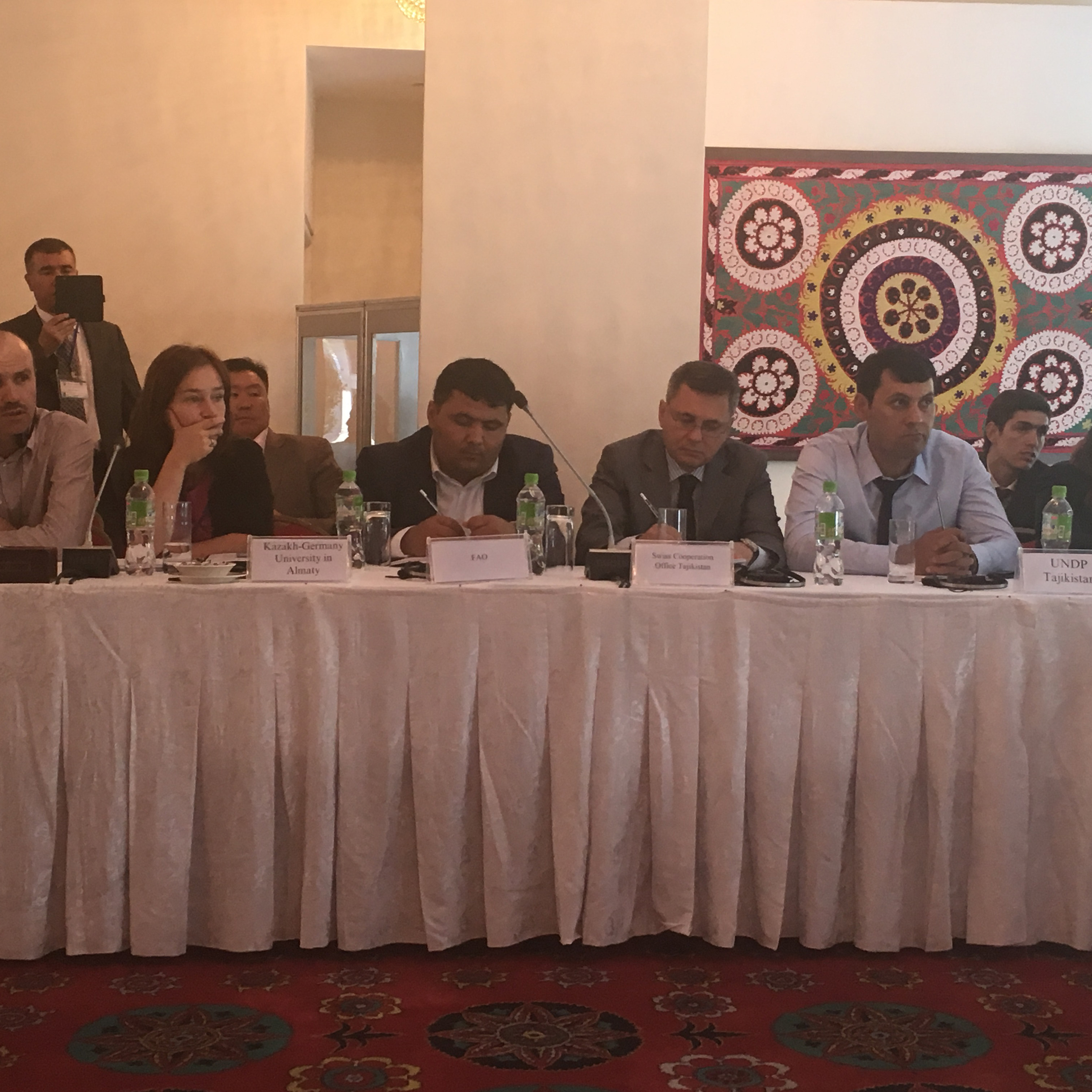 Second Regional Consultation on Valuing Water  in Tajikistan